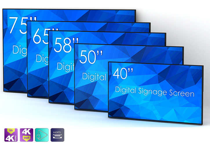 Tous les formats digital display